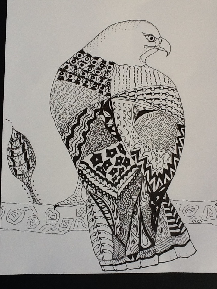 The Art of Zentangle | Meanwhile, back at the ranch